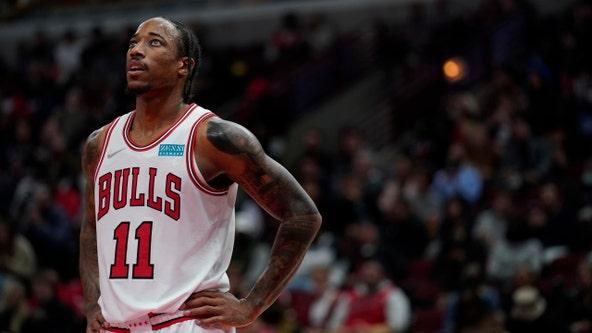 DeRozan helps Bulls beat Pistons 97-82