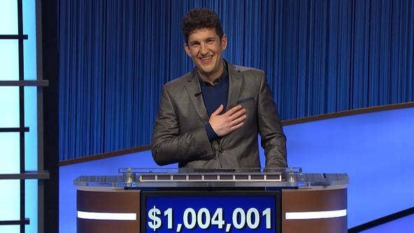 Matt Amodio's historic 'Jeopardy!' streak ends after 38 wins