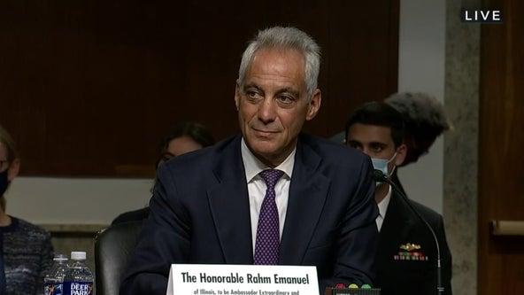 Former Chicago Mayor Rahm Emanuel testifies at confirmation hearing for Japanese ambassador post