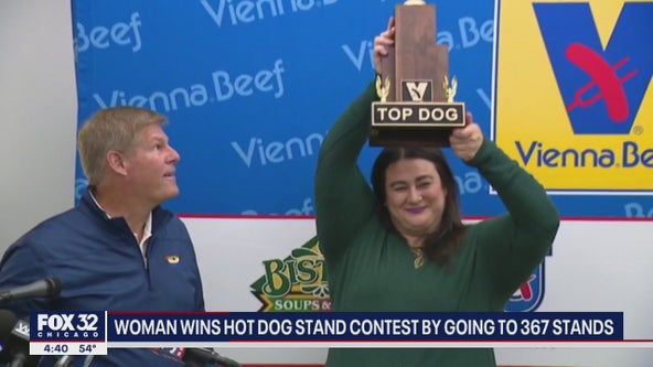 Illinois woman blessed with perks after winning Vienna Beef's 'Hot Dog Stand Challenge'