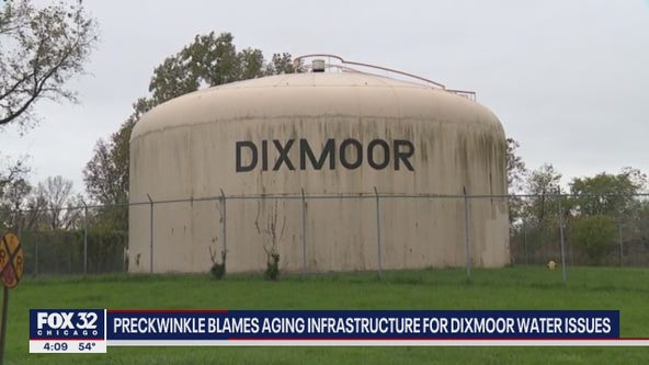 Some water pressure restored in Dixmoor, allowing businesses to reopen