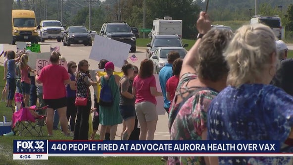 More than 400 Advocate Aurora Health workers fired for not getting vaccinated