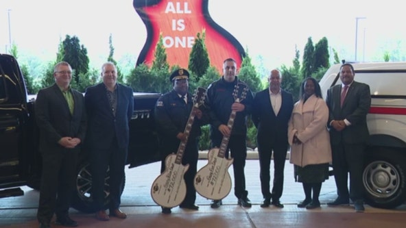 Hard Rock Casino donates 4 trucks to Gary police and fire departments
