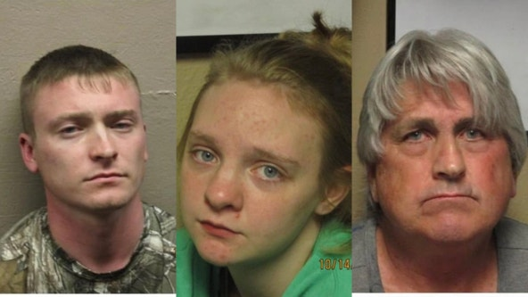 3 charged after missing Illinois woman found dismembered