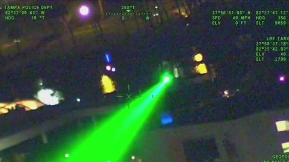 Illinois, Indiana rank among states with most laser strikes on airplanes
