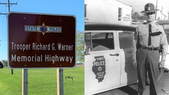 Pritzker dedicates Illinois highway in honor of fallen state trooper