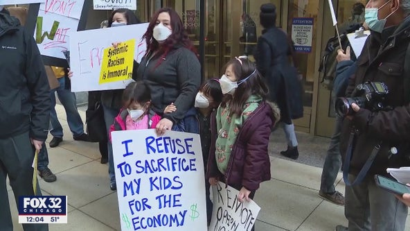 Activists stage 'sick-out' to demand CPS keep students safer from COVID-19