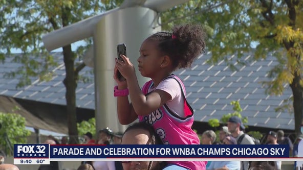 'It means a lot': Young girls inspired by Chicago Sky championship win