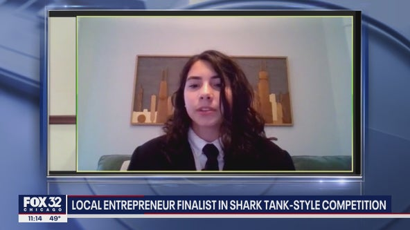 Holy Trinity High School student is a finalist in 'Shark Tank-style' competition