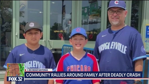Community rallying around family after deadly crash in Beach Park