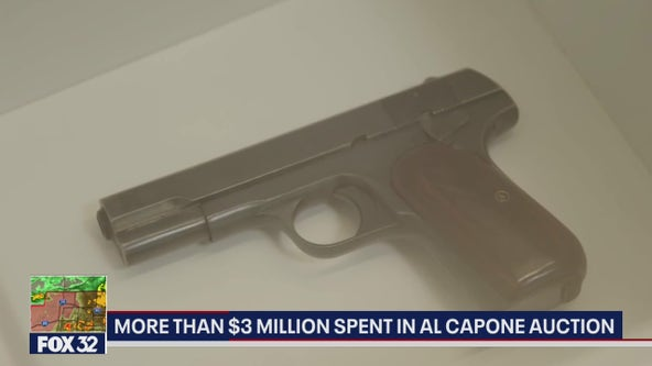 Auction of Al Capone's items brought in over $3M