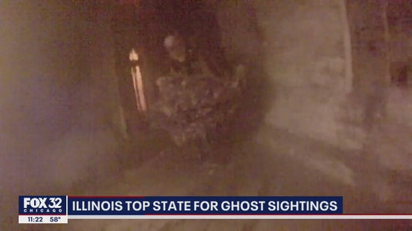 Illinois top state for ghost sightings