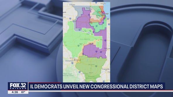 Illinois Democrats look to increase edge with new House maps