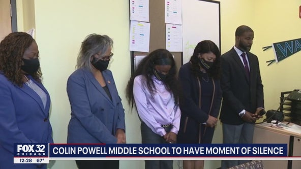 Officials, leaders at Colin Powell Middle School reflect on school's namesake