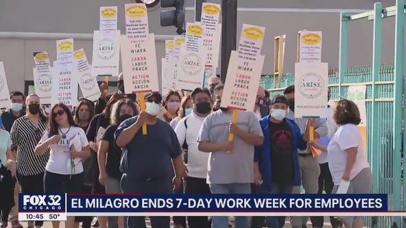 Chicago El Milagro employees will no longer have to work 7 days a week