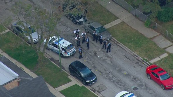 2-year-old girl, 25-year-old man shot on Chicago's South Side: police