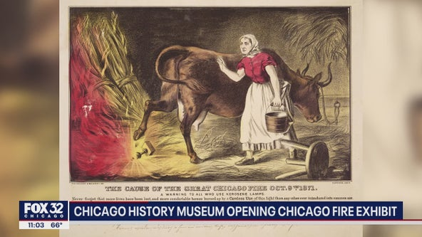 The burning question: Who started the Great Chicago Fire?
