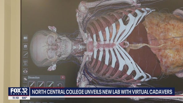 North Central College unveils new lab with virtual cadavers