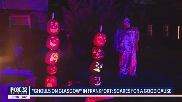 Frankfort Halloween display is a monster mash