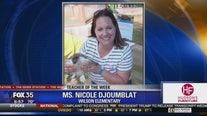 Teacher of the Week: Ms. Nicole Djoumblat