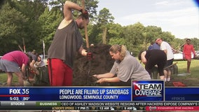 Seminole Co. residents fill sandbags, prepare for possible flooding