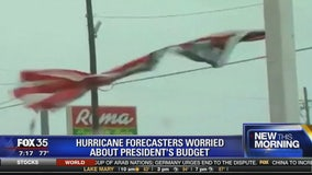 Hurricane forecasters worried about President's budget