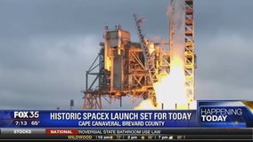 Historic SpaceX launch set for today
