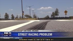 Street racing problem in Lake Nona