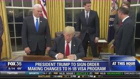 President Trump to sign order making changes to H-1B Visa program