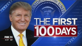 The first 100 days of President Trump