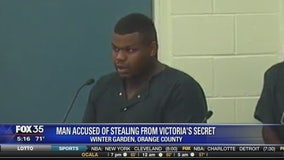 Man accused of stealing from Victoria's Secret