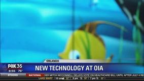 New technology at Orlando international Airport