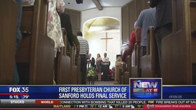 Sanford church closes after nearly 100 years