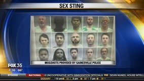 Sex sting bust in Gainesville