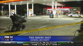 Two bikers shot in Leesburg