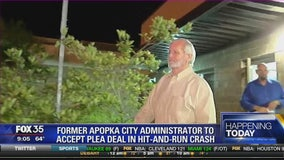 Former Apopka city administrator to accept plea deal in hit-and-run crash