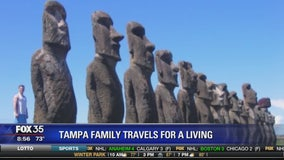 Tampa family travels for a living