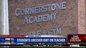 Teacher dismissed after students Google past