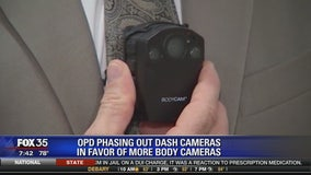 OPD phasing out dash cameras in favor of more body cameras
