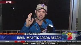 HURRICANE IRMA: Storm impacts Cocoa Beach