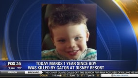 Today marks 1 year since boy was killed by gator at Disney Resort