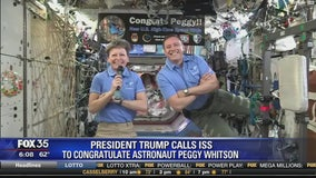 Commander Peggy Whitson has spent 534 days in space