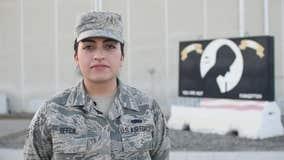 Military Greetings: Rae Ellen Beeck
