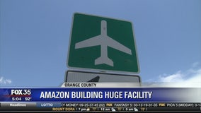 Amazon building huge facility