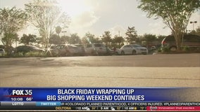 Black Friday wrapping up