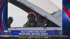 Buzz Aldrin takes flight in Melbourne