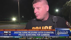 Shooting during Melbourne Easter celebration, police searching for gunman