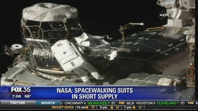 NASA: Spacewalking suits in short supply