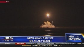 New launch date set for Atlas V rocket