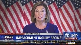 Pelosi orders impeachment probe of Trump